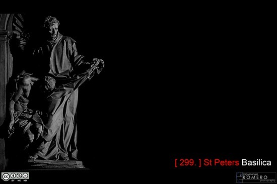 St Peter's Basilica, Basilica de San Pedro,  B&N, B&W, Italia, Italie, Italy, mromero, N&B, prioap, Prioridad Apertura, Roma, Rome